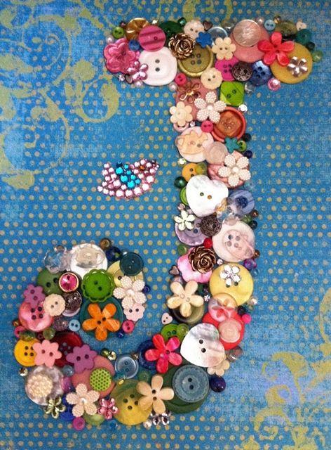 Las 25 mejores ideas sobre letras decoradas en pinterest y - Letras decorativas para ninos ...