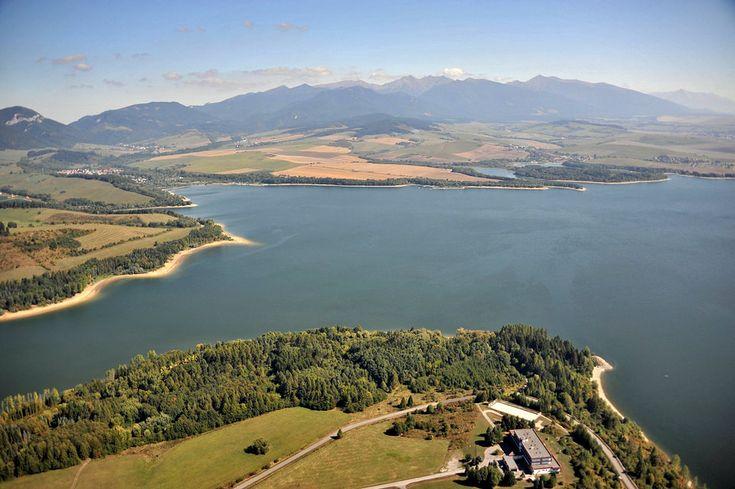 Letecké zábery z cesty okolo Slovenska - www.sme.sk