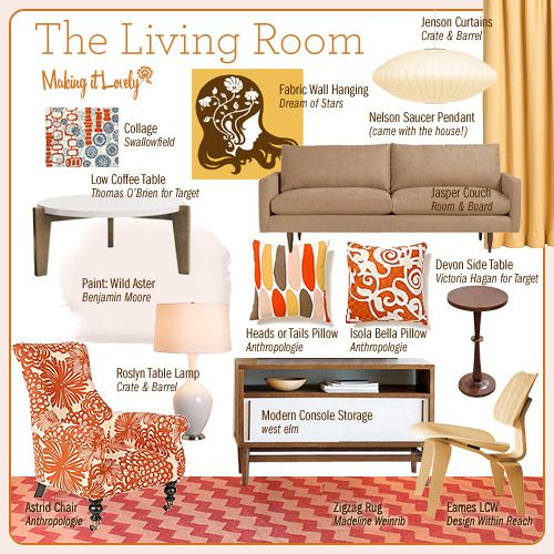 My Living Room by Nicole Balch, via Flickr