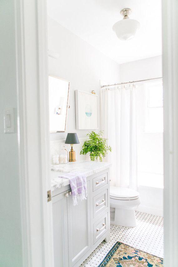 classic white bathroom