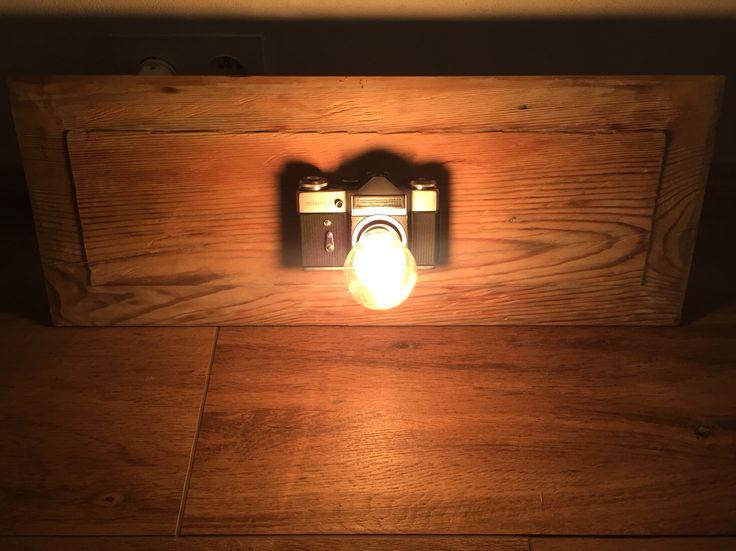 Nowa lampka do piwnicznego pokoju