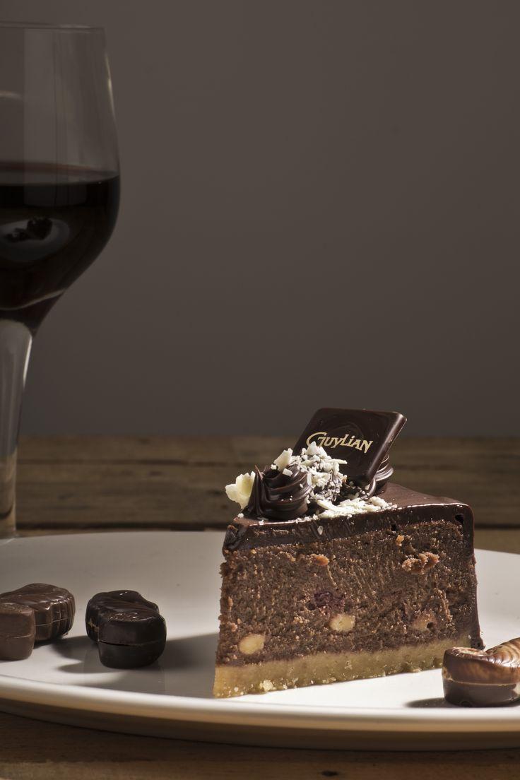 Guylian Hazelnut Chocolate Cake by Angus Platt