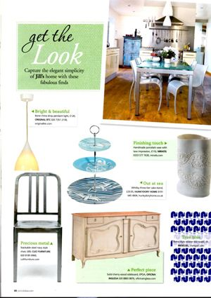 Period Ideas, January 2013 - Features Janet Stahlin Edmondson's Oval Vase. Find this product on our website here: http://www.miratis.com/ceramics/vase-3.html
