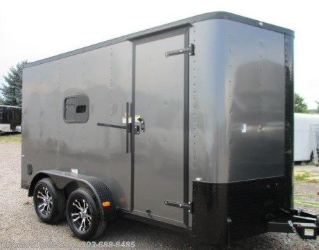 #14005 - 2017 Cargo Craft Elite V 7x14 Insulated Enclosed Cargo Trailer for sale in Castle Rock CO