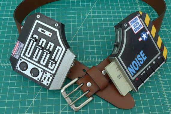 X-Men Quicksilver Stereobelt Kit by CharlesworthDynamics on Etsy