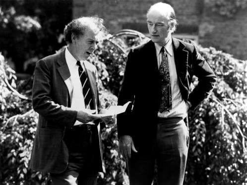 James Watson and Francis Crick - Everett/Rex Shutterstock