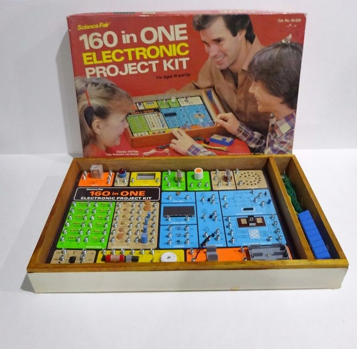 Science Fair Radio Shack 160 in One Electronic Project Kit # 28-258 #RadioShack