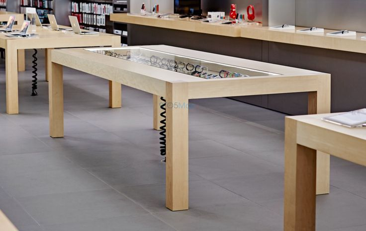 Apple Store revamp for Apple Watch revealed: 'magical' display tables, demo loops, sales process | 9to5Mac