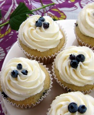 Vegan Lemon Blueberry Cupcakes (must try!)