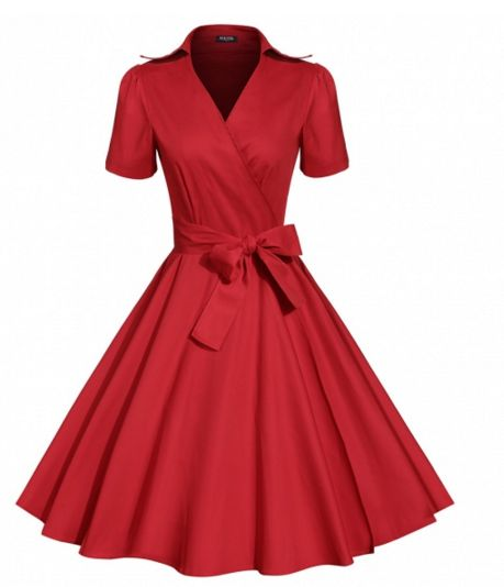 "Dress in the ""Swing"" era with this dress! Comes in different colors! Shop Now!"