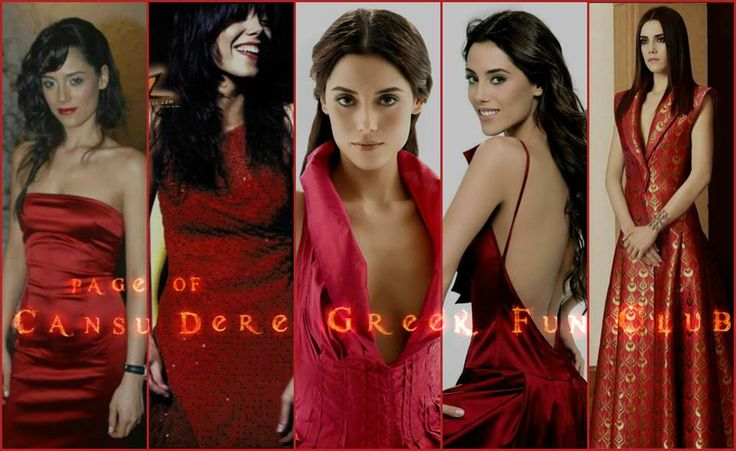 #LadyinRed #CansuDere #CansuDereGreekFunClub