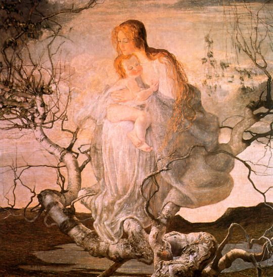 GER GIOVANNI SEGANTINI THE ANGEL OF LIFE