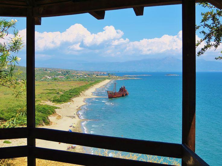 Gythio - Glyfada beach