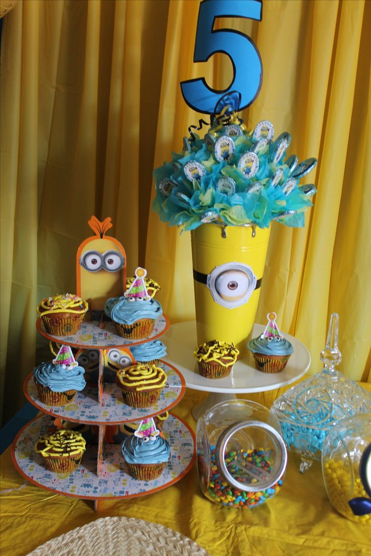 Don't forget de Cupcake's the kid's always ask's for them.....