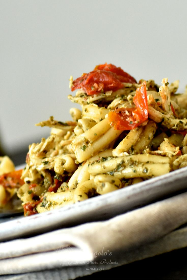 Angelo's Pasta's Pesto Chicken Pasta Salad is a great dish to make to celebrate Australia Day. Created by feature foodie, Shelley Judge, this is a popular summer salad to take to barbecues, picnics and parties.