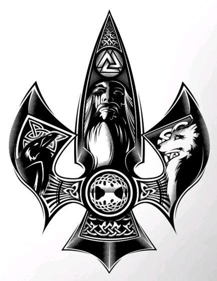 Gungnir - The Spear of the Odin.