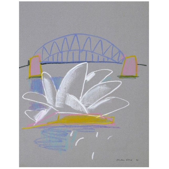 Sydney Opera House V by Ken Done. Hand signed by the artist, this limited edition print is available at The SMH Shop.