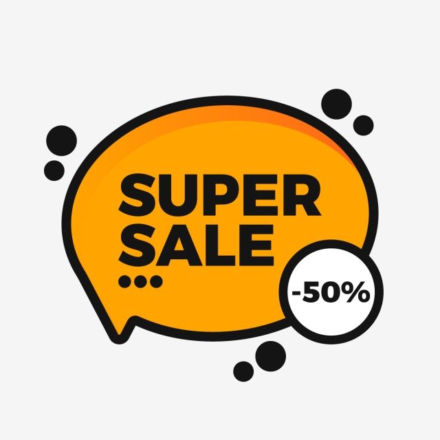 Orange Super Sale Label Tag Template In Bubble Chat Style Ribbon Vector Tag Png And Vector With Transparent Background For Free Download Promotional Design Super Sale Tag Template