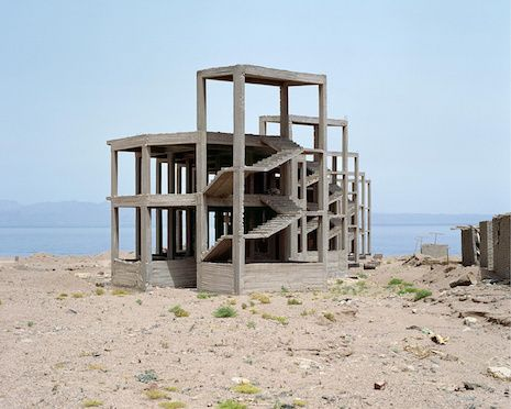 Abandoned hotels in the Egyptian desert may as well be on another planet   Dangerous Minds