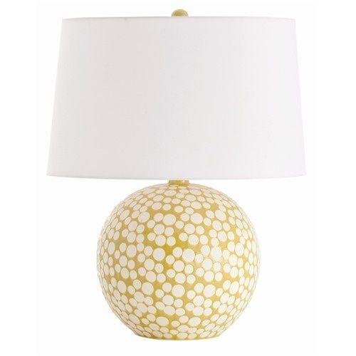 Painted lamp base