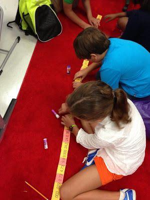 Jugando a ordenar decimales. Pequeños Líderes preciosas: un comienzo impresionante!