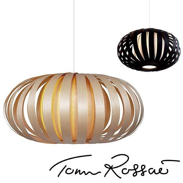 Tom Rossau - Suspension ST 903 - le bois travaillé et maîtrisé, pour une suspension très chic - éco, déco et design
