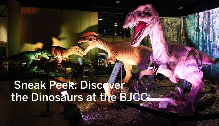 Discover the Dinosaurs event is this weekend at the BJCC