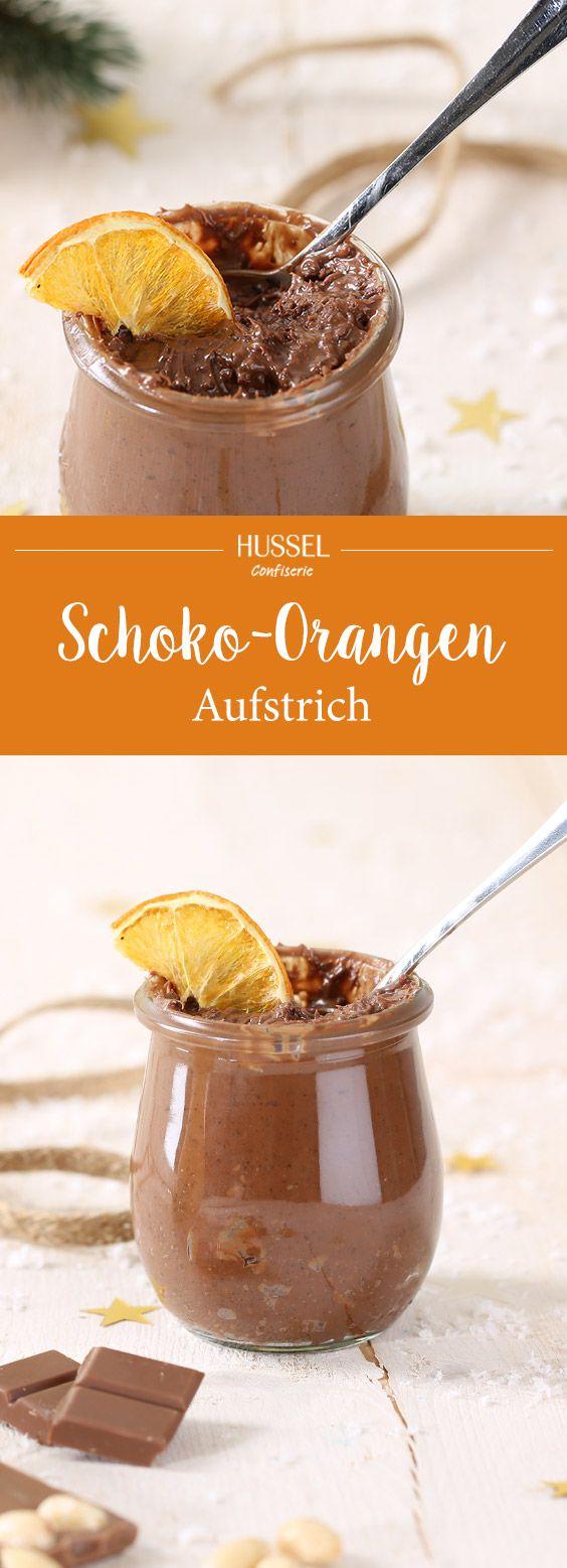 Schoko-Orangen-Aufstrich für ein süßes Frühstück - Hussel Confiserie