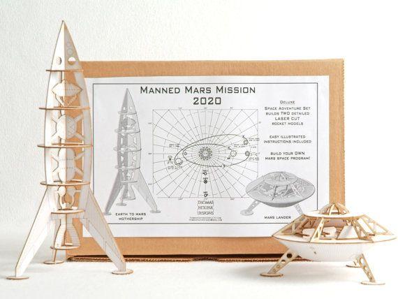 DIY Space Ship Model Kit  - Deluxe -  Space Adventure Set