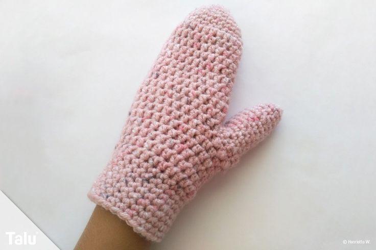 Handschuh häkeln