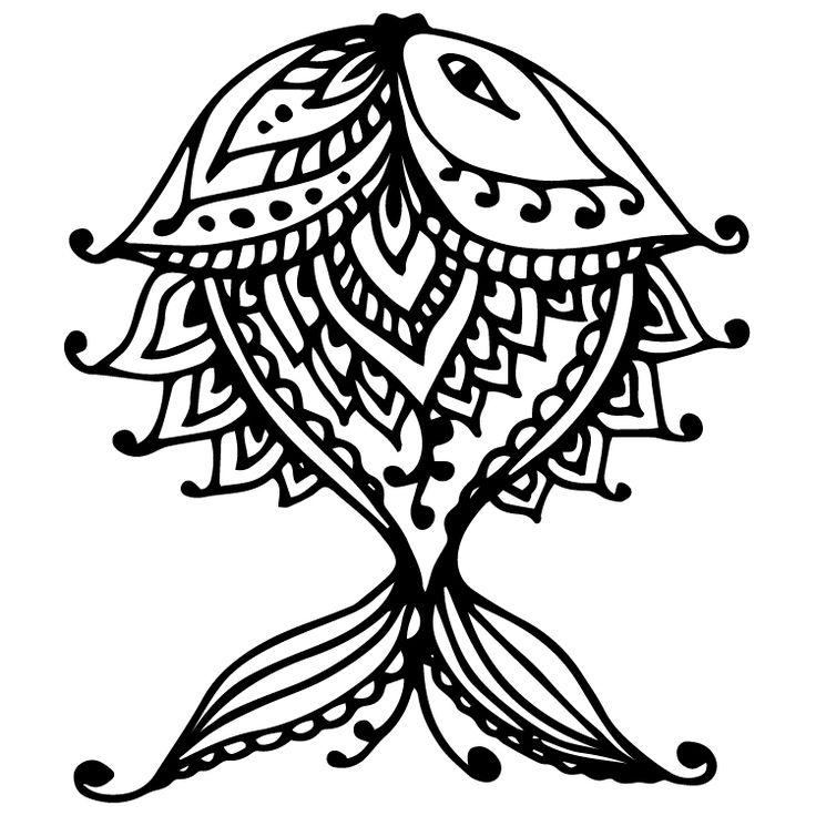 Henna Design Temporary Tattoos #638