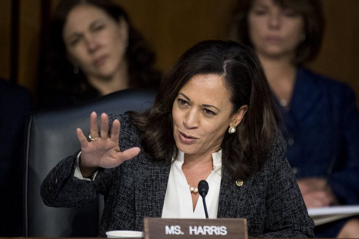 Kamala Harris   - These Celebrities Are Bringing Much-Needed Awareness To Black Women's Equal Pay Day