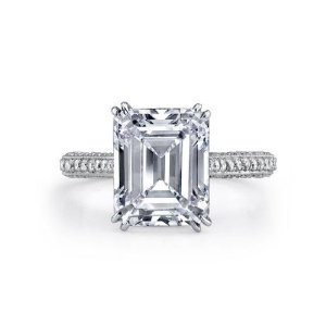 love this emerald cut ring