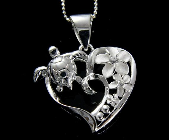 Hey, I found this really awesome Etsy listing at https://www.etsy.com/listing/130558171/137-sterling-silver-925-sea-turtle-heart