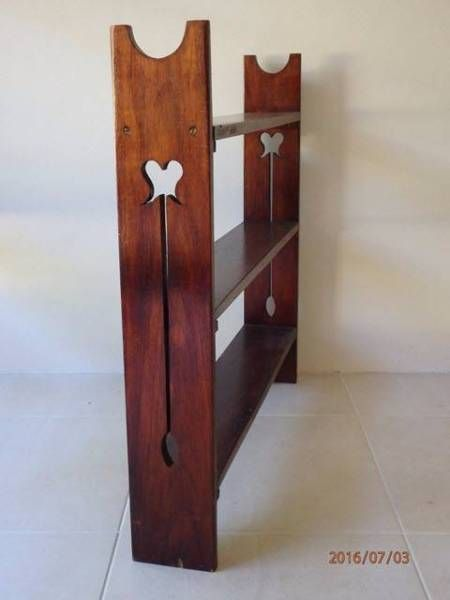 Small art deco timber book case | Bookcases & Shelves | Gumtree Australia Brisbane North West - Fig Tree Pocket | 1117691852