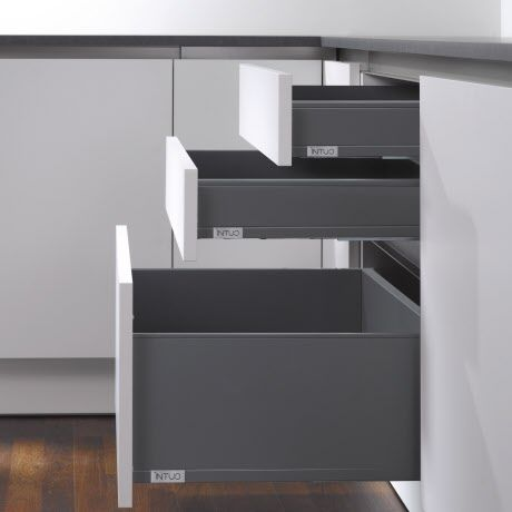 Intuo Legrabox touch&drive (Blum Tip-On Blumotion)
