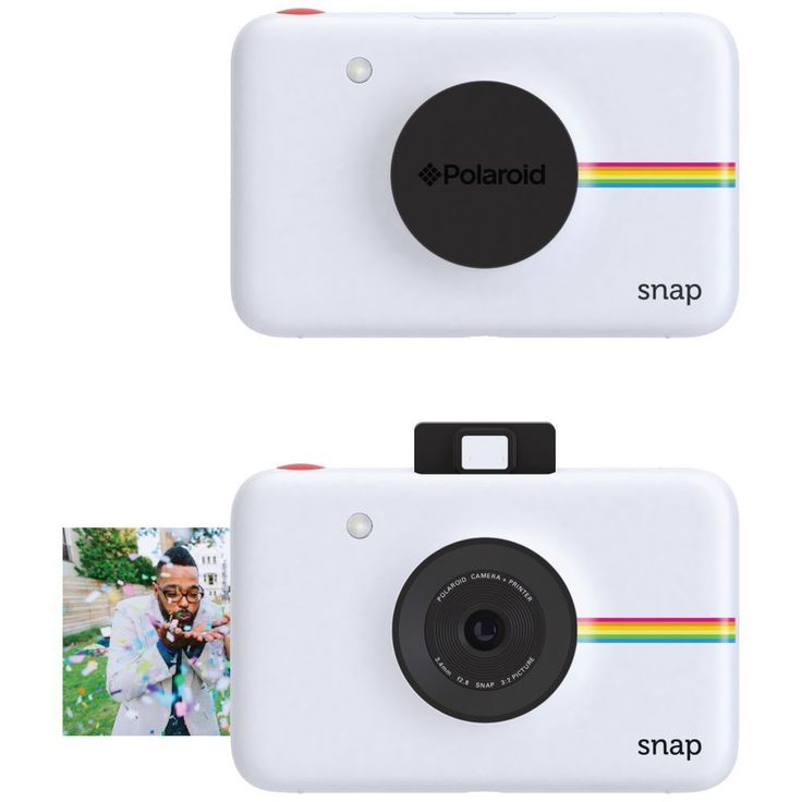 Polaroid Snap Instant Digital Camera with Integrated Printer