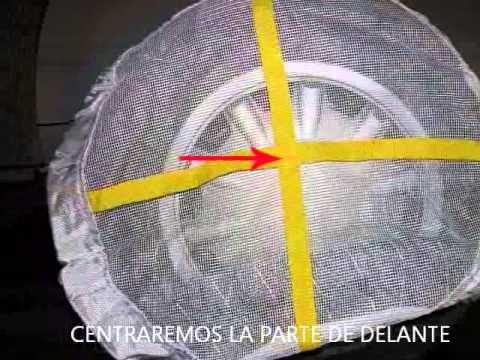 COMO SE COLOCA UNA CADENA DE NIEVE TEXTIL EN EL COCHE.  # Grabaciones # Videos # Cadenas # cadenas nieve # mantenimiento # transporte # neumaticos # carroceria # cadena textil