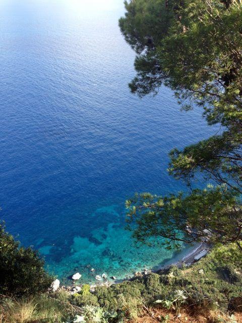 The beautiful island of Capri