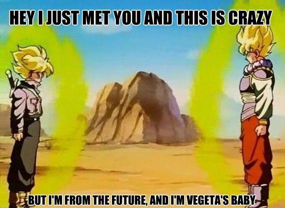 Funny Dragon Ball Z Abridged Memes : Pin by christina barrington on anime dragon ball