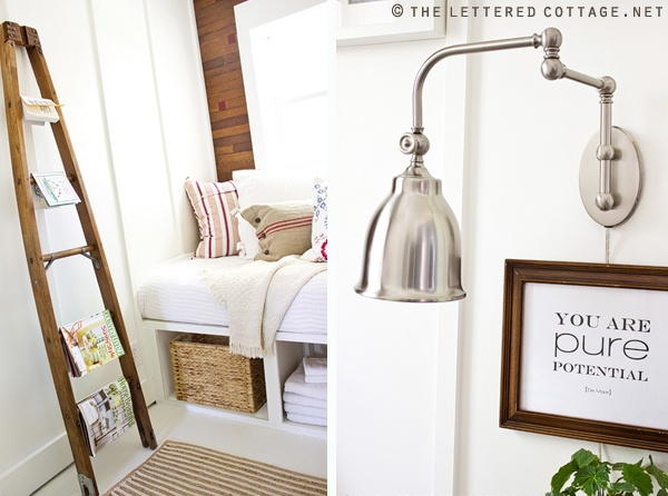 use ladder in the nook by my bedroom?