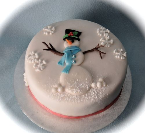 Another snowman cake | Flickr - Photo Sharing!