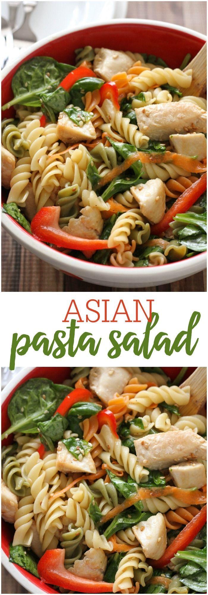Asian pasta recipe
