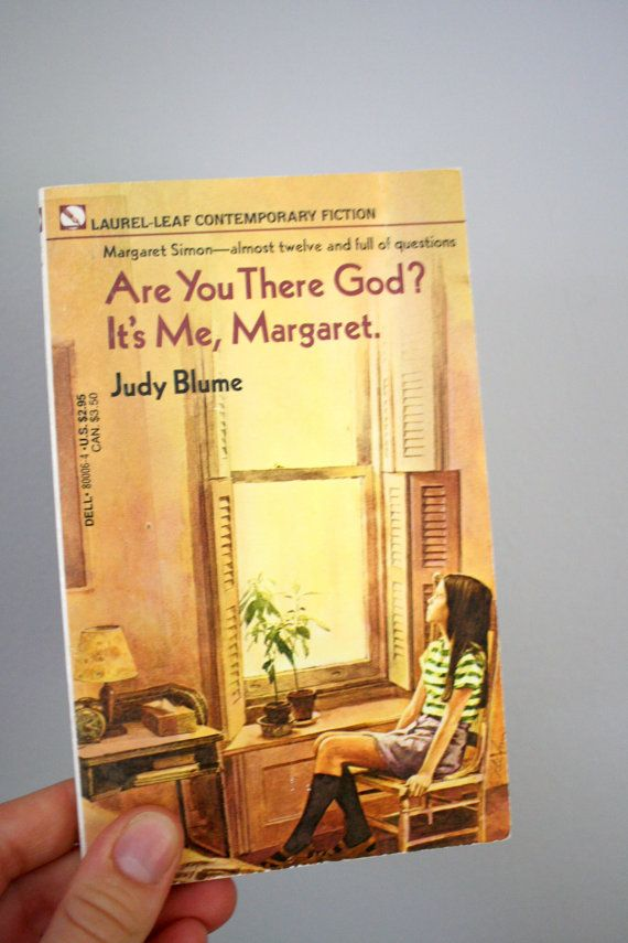 1974 Are You There God It's Me Margaret by Judy Blume by oldgrowth