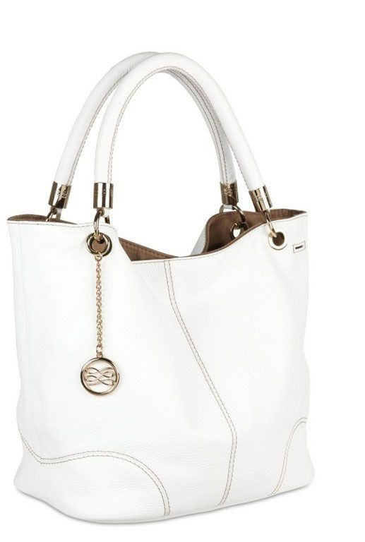 2014 French Flair Sac a main Lancel Blanc Chane