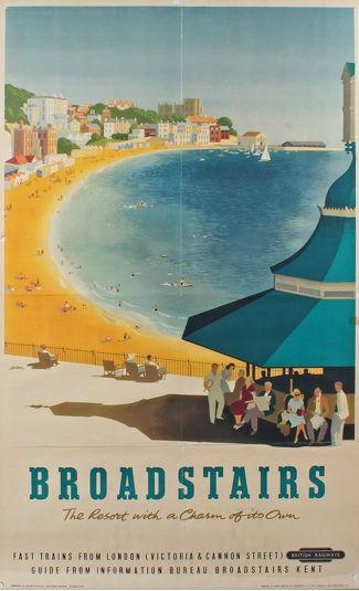 • Broadstairs British Railways Poster