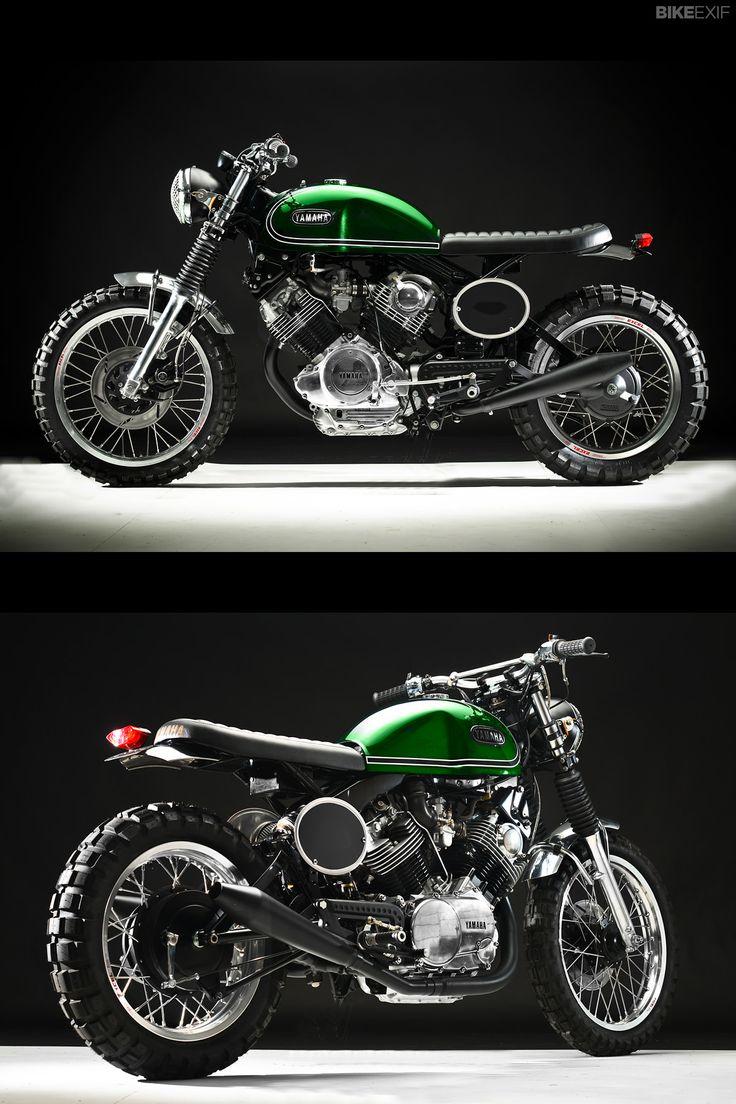 Yamaha Virago XV920 Brat Style