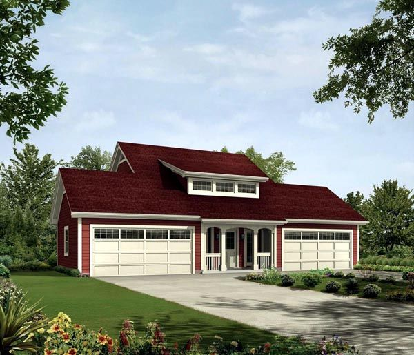 1000 images about detached garage idead on pinterest Southern living garage apartment plans