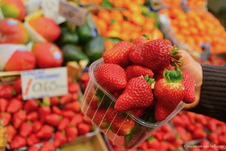 Italian strawberries Emilia-Romagna