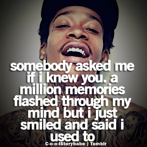 Wiz Khahlifa quotes he isn't just another rapper he puts amazing thoughtful lyrics into songs and they all ways turn out soooooo amazing!